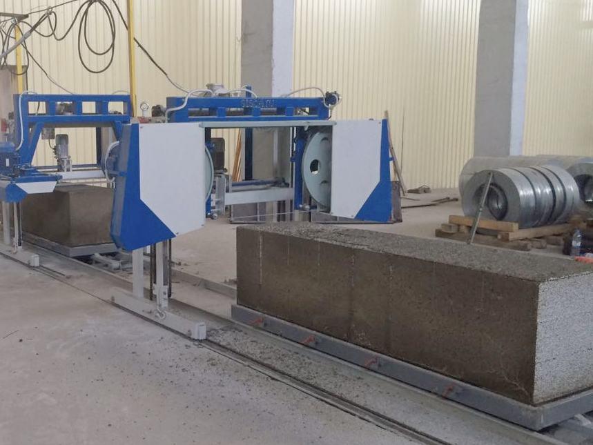 Автоматизированные линии для производства полистиролбетона